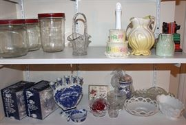 Antique and Vintage Pottery and Glassware