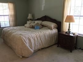 7 pc. Queen bed set by Century