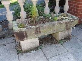 Antique Stone Trough - rare to find in this region!