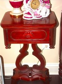 Davis Cabinet ~ Lillian Russell Lyre Stand