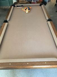 Single Slate Pool Table