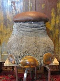 Vintage Elephant Foot Taxidermy