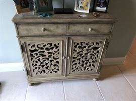 "Foyer cabinet 37"" x 13""D x 35""H"