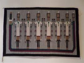 """Navajo 49.5 x 32"""", Weaver Roselyn Bedah"""