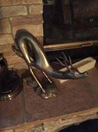 Brass deer $ 90.00