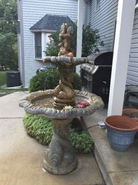 Concrete waterfall $150