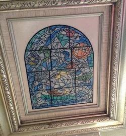 1986 Jeruselum Alem Window / copy Chagall