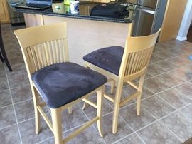 Two barstools $125 each