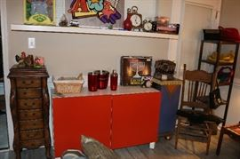 Ikea Besta Orange Cabinet /TV Stand / Buffet
