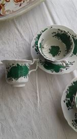 Part of a set of Macken China cups and sausers