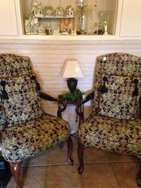 Matching arm chairs - another great pair
