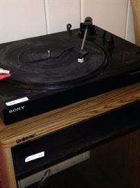 Sony turntable ---memories!