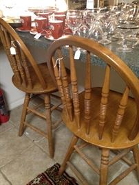 Two more available bar stools