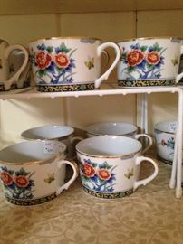 """Imari Court"" Japanese porcelain"