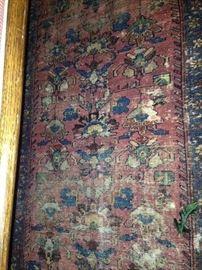3 feet x 5 feet antique rug
