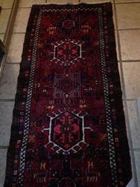 2 feet 3 inches x 5 feet 6 inches antique rug