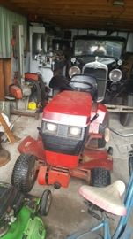 Awesome mower with attachments