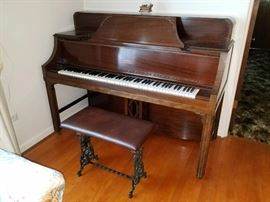 Baby Grand Piano $200 available to purchase now!