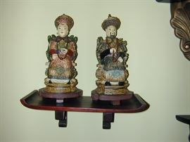 Asian Carved Figurines