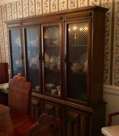 Vintage Stanley China Cabinet