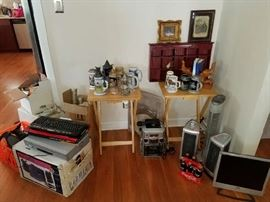 Antique Mugs, Electronic items, Fans