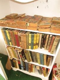 Nancy Drew books and other vintage books