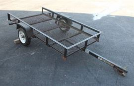 Carry-On 4' x 8' Utility Trailer with Mesh Floor