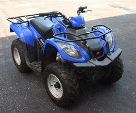 2008 KYMCO MXU 150 ATV, SN# REBLJ12AX8B470688