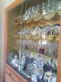 Lots of Crystal including Waterford