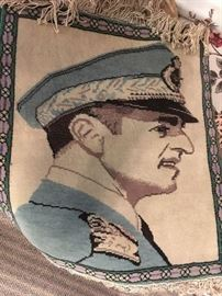 """Hand Knotted Rug of Shah - Appx 2x3"""""""