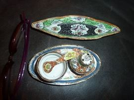 Enamel pieces from Iran - hand painted