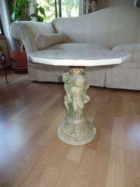 Angel pedestal table