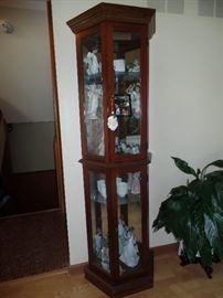 Lighted, Curio Cabinet