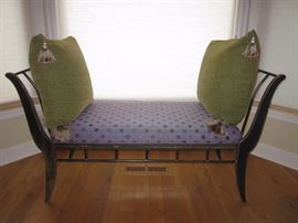 Recamier - slightly different from a settee or chaise