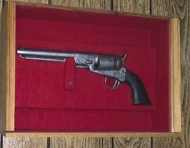 REPRODUCTION 45 PISTOL & DISPLAY CASE