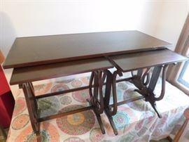 TIBBENHAM of IPSWICH-ENGLAND antique nesting tables