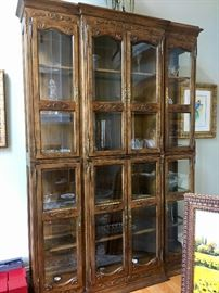 Display cabinet (approx.9 ft tall)