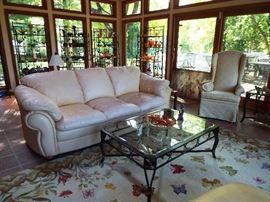 Gorgeous leather sofa by Decora