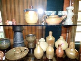 W. D. Gordy pieces, Pigeon Forge Pottery pieces