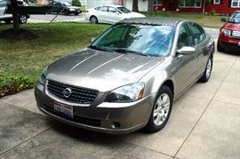 2005 Nissan Altima. four cyl. 76,000 miles.Very good condition except for a couple of dings.