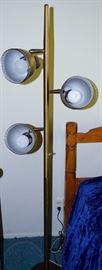 mid century standing lamp