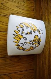 great mcm vase by Jean Cocteau