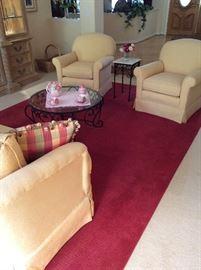 Beautiful sofa and chairs