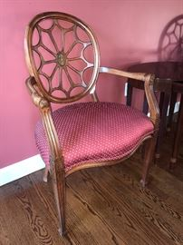 Spider Back chairs (2) -Paine Furniture