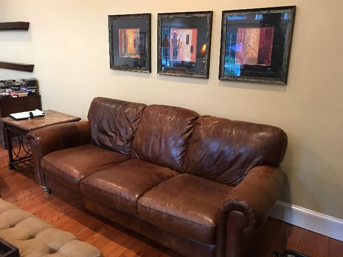 This room is filled with awesome DOMAIN furniture! Two of these babies - big, comfy, sturdy DOMAIN sofas...