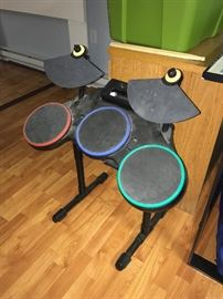Wii drum set (we have the Wii and components as well)