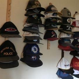 Baseball hat collection