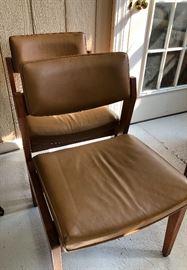 Gunlocke Co. MCM Chairs (4)