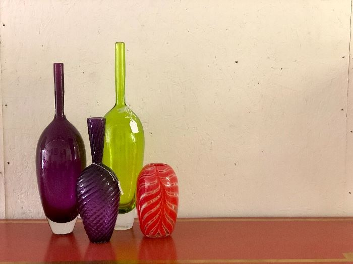 I love this glass from Martha's Vineyard Glassworks!
