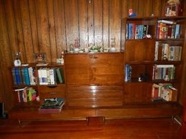 Mid-Century bookcase.